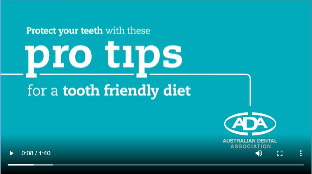 Pro tips for a tooth-friendly diet